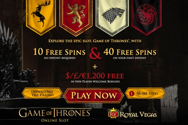 game of thrones pokies 50 spins